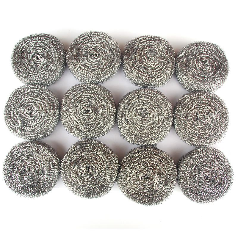 天天特卖洗碗30克钢丝球家用包邮大号不锈钢铁丝球清洁球厨房清洁