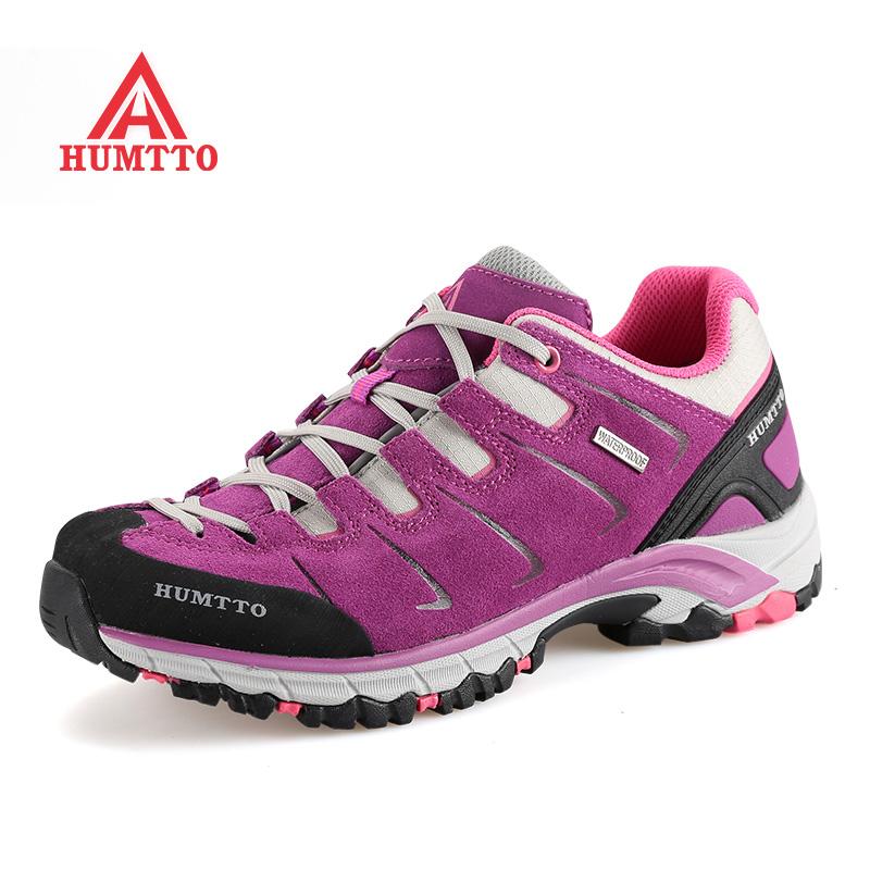 美国悍途登山鞋 男新款真皮防水户外鞋女防滑透气耐磨运动徒步鞋