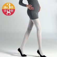 春秋新款 袜加档加大女丝袜 慕斯天鹅绒孕妇袜腰围可调节托腹连裤