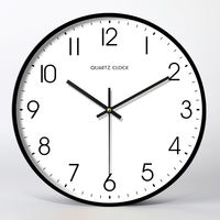 Nordic clock wall clock living room creative modern clock quartz clock watch hanging table bedroom mute personality large household
