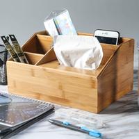 楠竹纸巾盒
