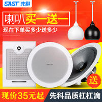 SAST/SAST S1 Ceiling Broadcast Ceiling Wall Mounted Horn Ball Acoustic Waterproof Speaker Ceiling Loudspeaker