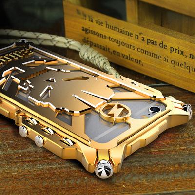 苹果7手机壳6S手机套iphone8金属防摔边框8PLUS雷神保护套帅气酷