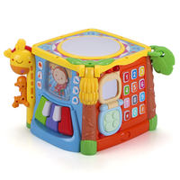 Gu Yu children's music pat drum 6-12 months baby hand drums 0-1-3 years old early education puzzle baby toys