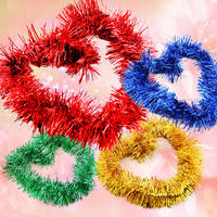 Pig Year New Year Decorations Bright Tops Ribbons Colorful Flower Mall Festival Scene Decoration Decorations