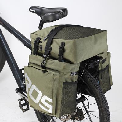 乐炫 自行车山地车驮包后货架包大容量防水 长途川藏骑行驼包装备