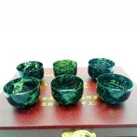 Jiuquan luminous cup Qilian Moyu Gansu specialty Wushan Yuyu Jiuquan specialty collection gifts authentic