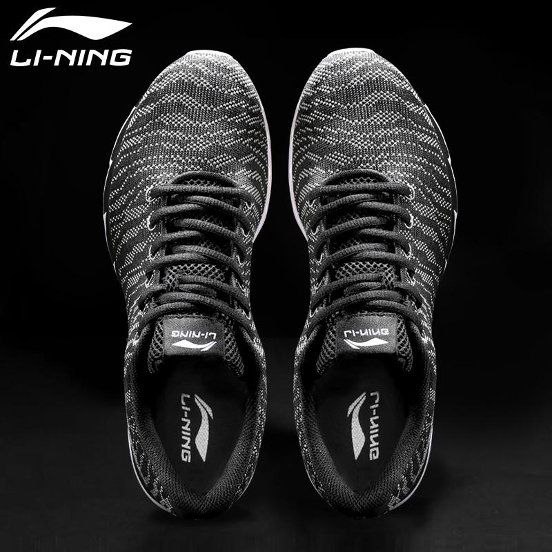 李宁男鞋运动鞋冬季2019新款超轻跑鞋透气休闲鞋秋冬v8网鞋跑步鞋