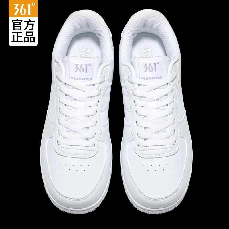 361运动鞋男2019秋季白鞋空军一号新款小白鞋361度学生板鞋男鞋