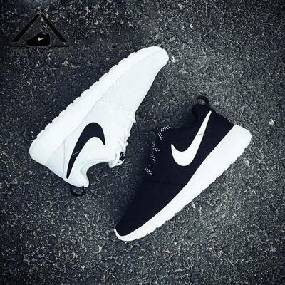 现货 耐克Nike Roshe Run One黑白跑鞋 844994-002 511881-010