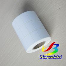 厂家直销 优质铜版纸不干胶32*19*10000/条码打印纸/不干胶标签纸