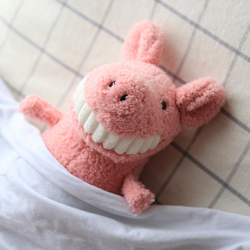 微笑毛绒玩具