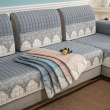 北欧风格布艺沙发垫子四季通用简约现代坐垫欧式沙发套沙发罩全盖