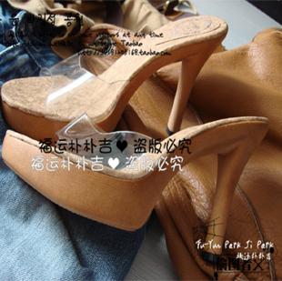 韩国现货鱼嘴鞋