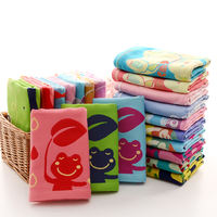 Wholesale cotton three-layer gauze children's face home adult small towel cotton baby face towel soft water