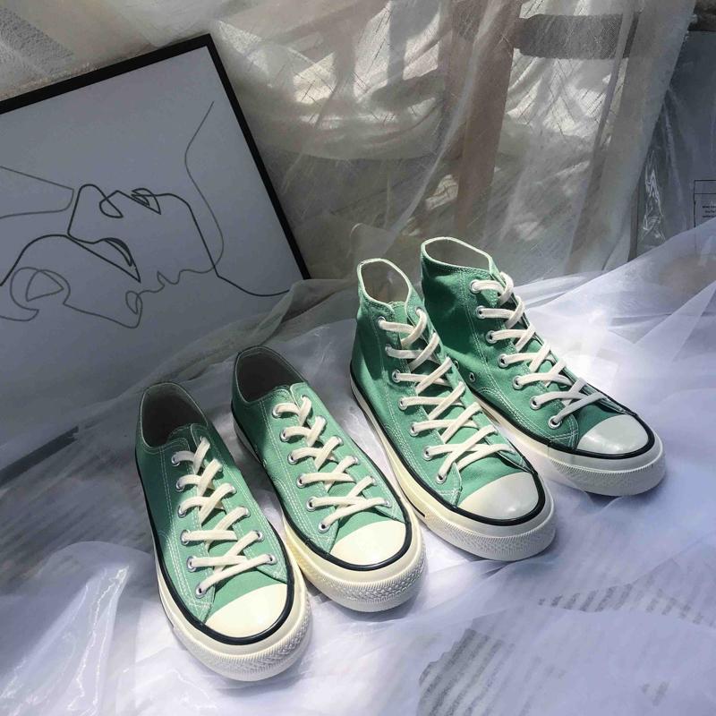 薄荷绿鞋子