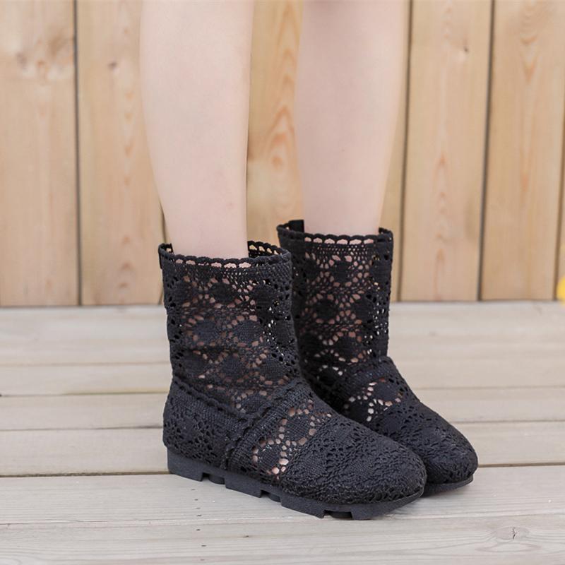 裸靴女春秋款