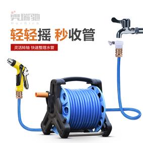 奥瑞驰汽车高压力洗车水枪水管收纳架软管抢浇花神器家用工具套装