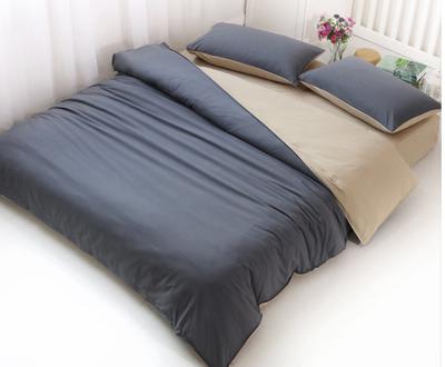 纯色简约全棉四件套北欧纯棉素色被套1.8床家纺成人2.0床上用品哪款好