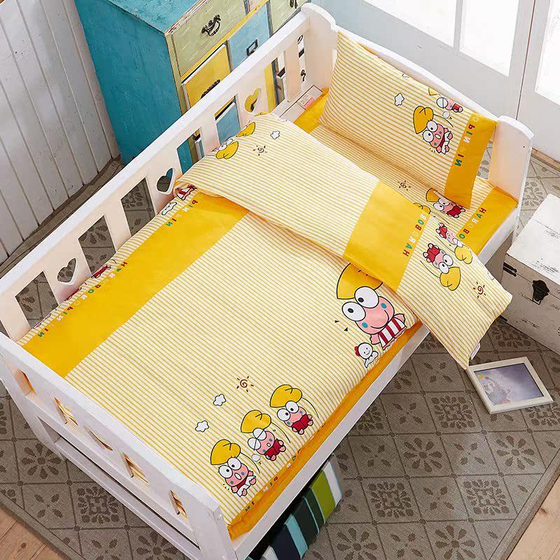 幼儿园被褥纯棉三件套儿童单件被套单人午睡小被子含芯六套件甩卖