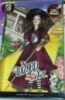 Shopping Barbie Doll Toy Barbie 50th Anniversary Wizard of Oz Oriental Bad Witch Silver Sign Gift Child