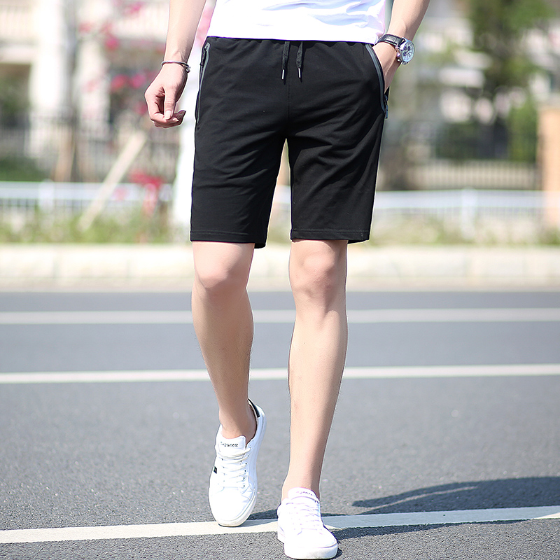 夏季运动短裤男五分裤夏天速干篮球裤男士加肥加大码弹力五分裤潮1元优惠券