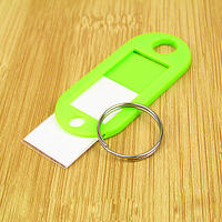 Full package Family plastic listing key tag key chain hotel key card hotel travel signage