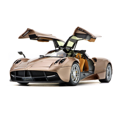 1:18 帕加尼车模 合金 模型 风神 跑车高仿真高颜值礼物