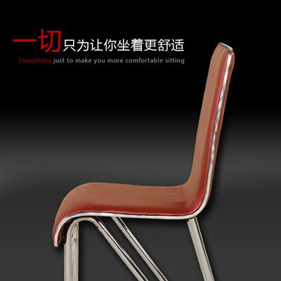 餐椅椅子快餐椅酒店美甲椅皮革軟面高背凳子簡約現代餐桌椅子包郵最新報價