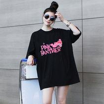 350斤胸围170超大码女装韩版T恤300斤胖mm加肥夏装T恤280腰围160