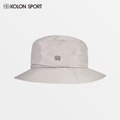 男女同款 KOLONSPORT可隆帽子太阳帽 大檐遮光户外徒步垂钓渔夫帽