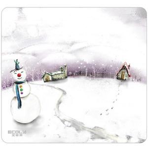 宜客莱NatureArt四季系列冬天系列鼠标垫防滑橡胶底鼠标垫包邮