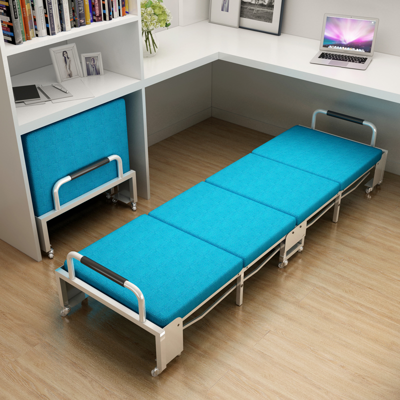 百翠思午休床折叠办公室便携椅单人多功能午睡简易成人加厚经济型