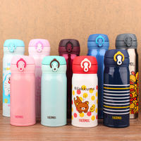Thermos mug ladies authentic car cup children's large capacity cup Japan ultra light men's portable cup