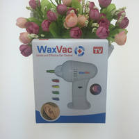 Waxvac ear cleaner electric ear / ear cleaner / blister packaging / earphone TV shopping
