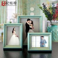 欧式相框摆台创意结婚照片七10寸儿童复古美式相册画框证书框批发