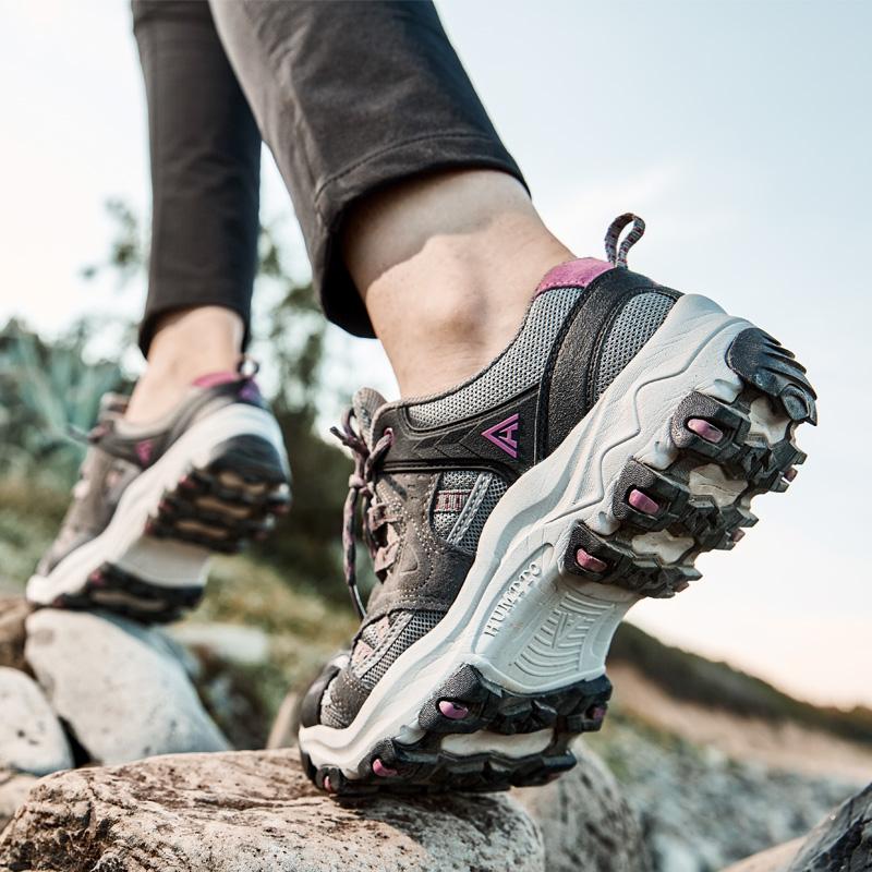 美国悍途登山鞋女防水防滑户外鞋透气耐磨旅游爬山鞋减震徒步鞋男