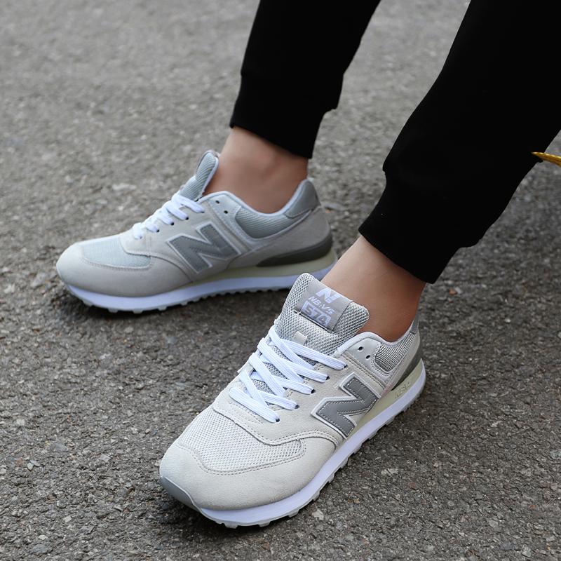 正品中新百伦伍兹NB574跑步鞋运动鞋男女鞋晨练健身鞋休闲情侣鞋