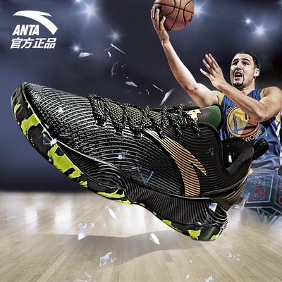 安踏篮球鞋男鞋汤普森低帮球鞋秋季新款运动鞋防滑大码NBA战靴