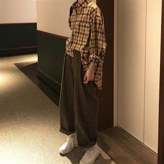 网红2件坠感阔腿裤套装显瘦秋冬洋气2018年秋冬季新款女装时尚潮