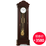 Overlord mechanical landing bell European style living room creative solid wood standing bell German Hermler machine core Chinese type seat clock