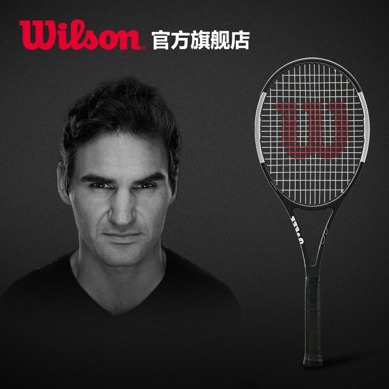 Wilson威尔胜 费德勒 黑白经典款 专业拍网球拍PS RF97