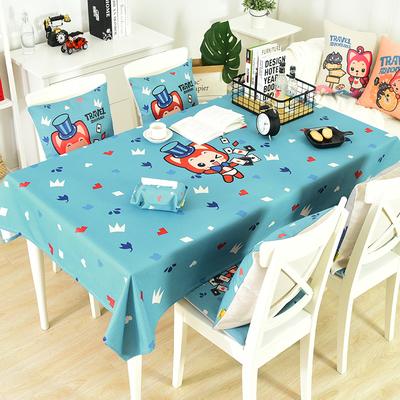 阿狸棉麻小清新桌布布艺可爱卡通长方形茶几桌布餐桌布圆桌布台布