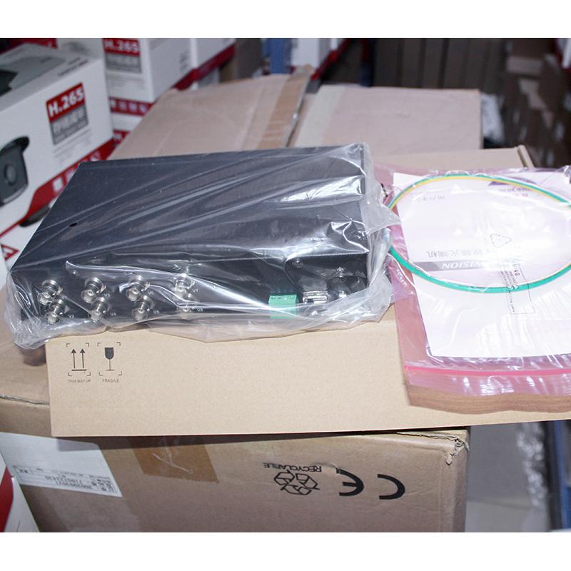 海康威视8路视频光端机HDTVI同轴接收光端机DS-3V08R-AE/720P单台