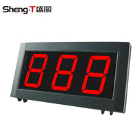 Banknote counter accessories universal external display large outside display currency detector bank dedicated monitoring external display