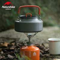 NH move customer camping teapot 1.1L portable kettle wild picnic kettle hard alumina coffee maker