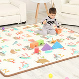 Philharmonic XPE baby crawling mat living room baby climbing mat thickening environmental protection household children foam mat