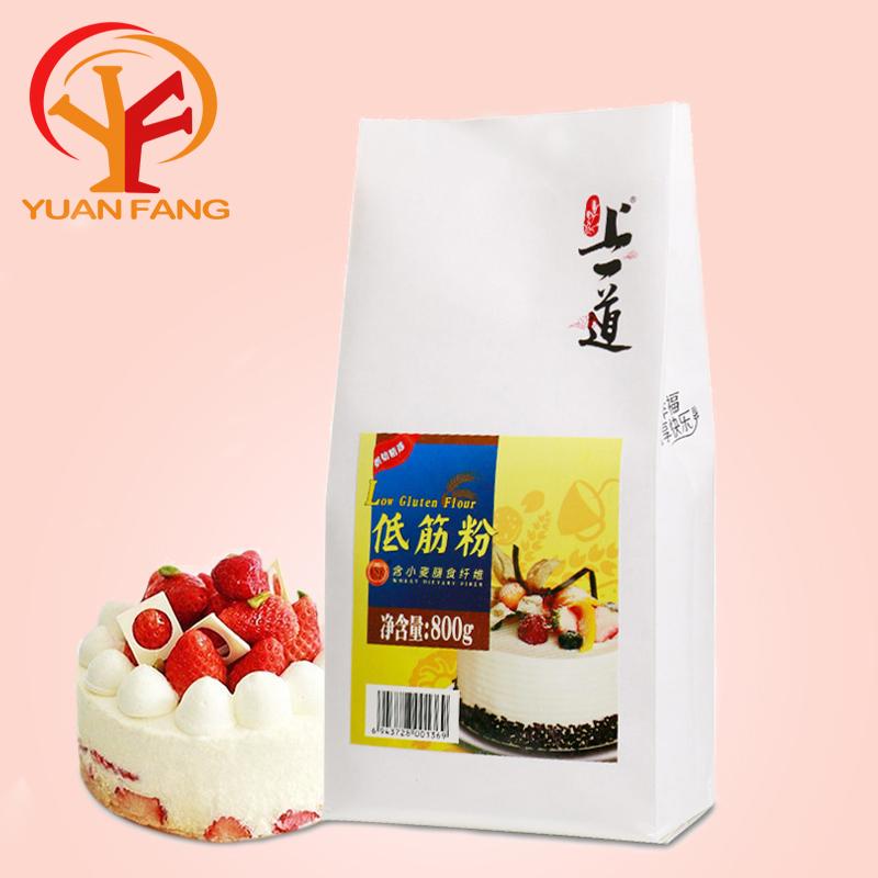 烘焙原料 上一道低筋面粉 蛋糕粉 饼干粉 小麦面粉800g