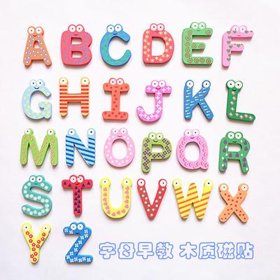 冰箱贴字母贴磁性贴