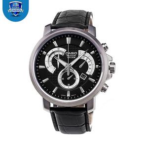 卡西歐506系列男士手表時尚潮流鋼帶防水石英男表BEM-506L-1A